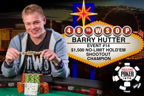 Barry Hutter Books Shootout Win to Capture First Bracelet, Vaults Into POY Contention