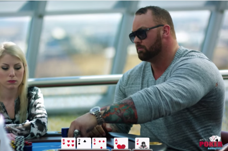 Randy Lew Films Into the Poker Glacier Video Featuring Game of Thrones' The Mountain