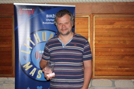 """""""Lithuania Masters 2015"""" finišo tiesiojoje nesustabdomas buvo Liutauras Armanavičius"""