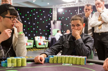 2015 Unibet Open Glasgow Day 2: Daniel Chutrov Takes Big Chip Lead Into the Final Day