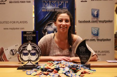 Angelina Rich Becomes First Woman to Win MSPT; Takes Down Venetian Event for $215,815
