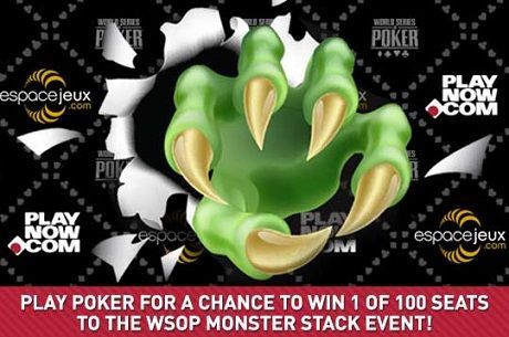 Dozens of PlayNow Qualifiers Headed to WSOP Monster Stack