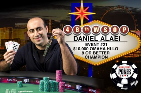 WSOP Gold Bracelet Number Five for Daniel Alaei