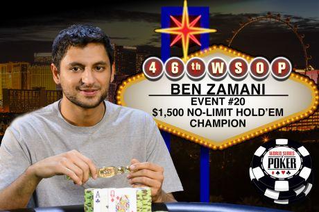 Ben Zamanni Vence Evento #20: $1,500 No-Limit Hold'em ($460,640)
