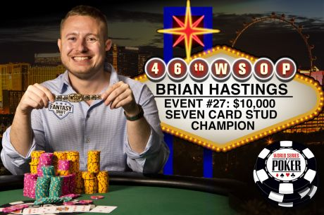 "Brian ""$tinger 88"" Hastings Wins Second Bracelet to Cash in on Big Side Bets"