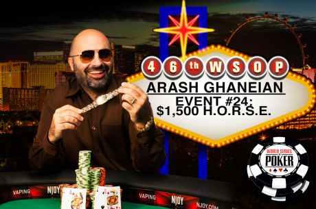 2015 WSOP Day 18: Ghaneian a H.O.R.S.E. Whisperer, Hasting Cashes in Big Bets & More