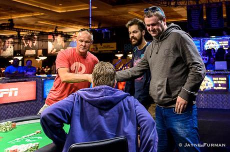 25-uoju numeriu pažymėtame WSOP turnyre A. Bielskis iškovojo šešiaženklį prizą!