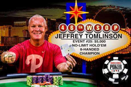 Florida Football Coach Jeff Tomlinson Makes WSOP Fairy Tale Come True