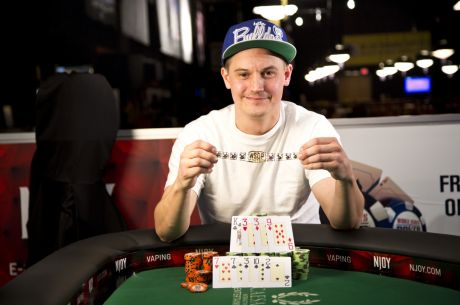 Family Man Aaron Wallace Wins Event #26: $1,000 Pot-Limit Omaha for $226,985