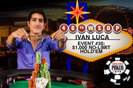 WSOP 2015 Día 22: Iván Luca y Mercier se llevan dos de los cuatro brazaletes entregados el...