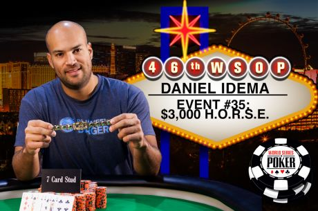 Hockey Pro Turned Limit Poker Master Daniel Idema Books Third WSOP Bracelet Win
