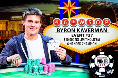 Byron Kaverman Captures His First WSOP Bracelet