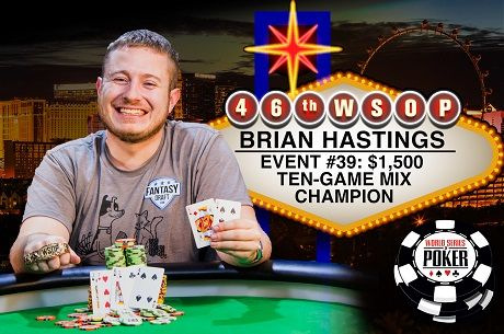 2015 WSOP Day 25: Brian Hastings Wins 2nd Bracelet in 10 Days