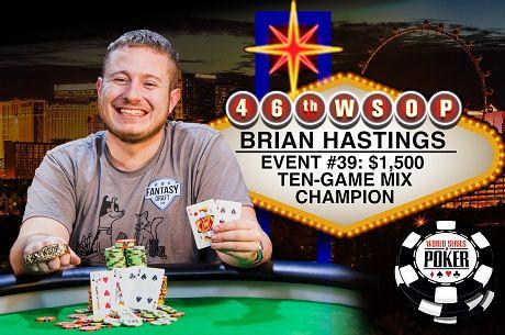 2015 WSOP Day 25: Brian Hastings Wins 2nd Bracelet in 10 Days