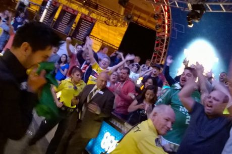 Brazilian Thiago Nishijima Wins WSOP Gold to Delight of Summer's Most Raucous Crowd