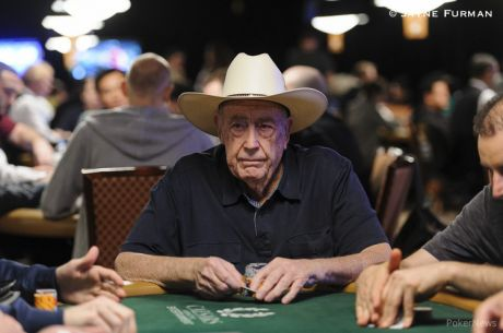 Doyle Brunson Enters Super Seniors; Doubtful for $50,000 Poker Players' Championship