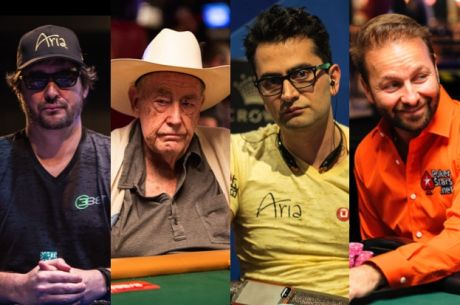 Hellmuth, Brunson, Esfandiari & Negreanu to Play Super High Roller Celebrity Shootout