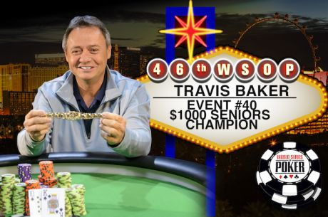 """I Need to Go Take a Nap"" Says Travis Baker After Winning 2015 WSOP Seniors Event"