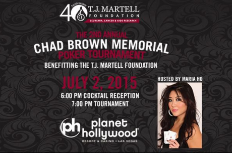 Maria Ho to Host 2nd Annual Chad Brown Memorial Poker Tournament on Thursday, July 2