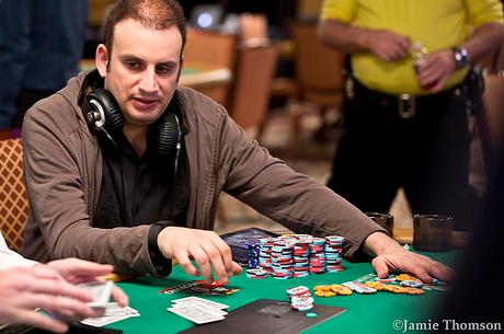 Abe Mosseri vezei a The Poker Players' Championship mezőnyét a 3. nap után