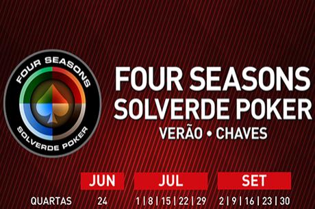 Four Seasons Solverde Poker Chaves Arranca Hoje às 20:00