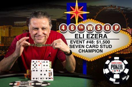WSOP-2015: Эли Элезра выиграл третий браслет Мировой...