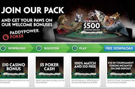 Iskoristite bonus od 525$, koji Vas čeka na PaddyPower Pokeru!