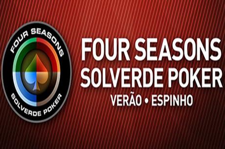 Hoje e Amanhã Jogam-se Torneios Four Seasons Solverde Poker Verão em Espinho