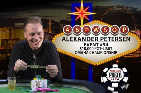 "Denmark's Alexander ""AlexKP"" Petersen Wins $10,000 PLO Championship for $927,655"