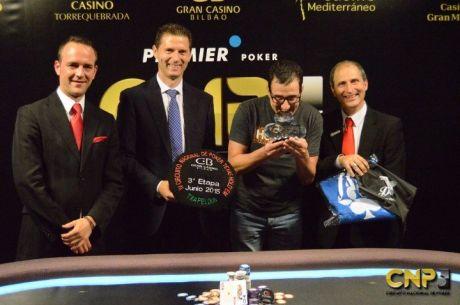 Juan Bolinaga vence en la tercera parada del Circuito Nacional de Poker 2015