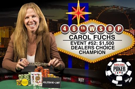 2015 WSOP Day 32: Carol Fuchs is First Female Bracelet Winner of the Summer