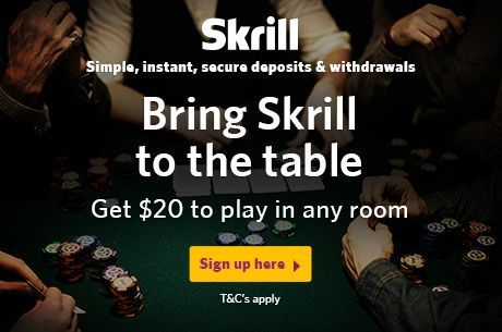 Use a Free $20 From Skrill to Start Your Real-Money Online Poker Career