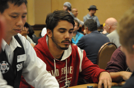 José Carlos Brito no Dia 2 do Evento #59: $1,500 No-Limit Hold'em