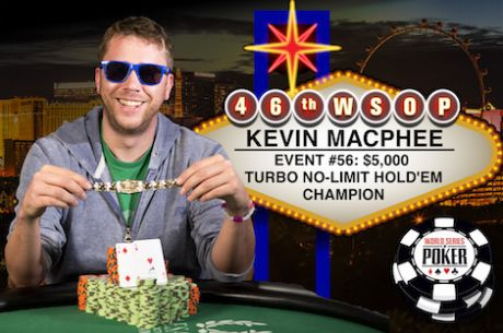 Kevin MacPhee Vence Evento #56: $5,000 Turbo No-Limit Hold'em