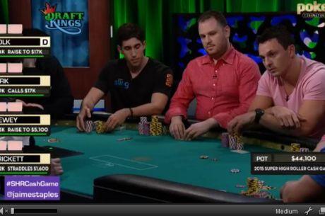 Super High Roller Cash Game : le streaming avec JR Bellande, Antonio Esfandiari, Sam Trickett...