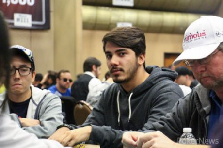 José Carlos Brito (30/37) Avança ao Dia 3 do Evento #59: $1,500 No-Limit Hold'em