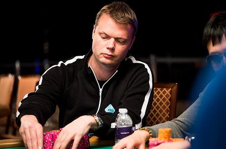 Juha Helppi, Antony Zinno és Shaun Deeb a WSOP $25K PLO 3. napján