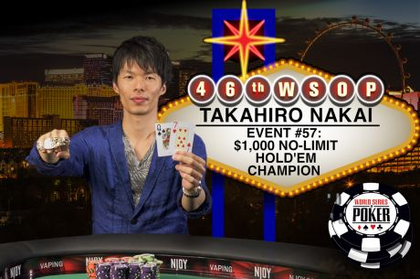 WSOP Day 36: Zinno's Magic Continues, Gold's End, and Nakai Wins Japan's Second Bracelet