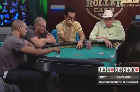 A $250K-s minimum beülőjű Super High Roller Cash Game legjobb leosztásai - 1. rész