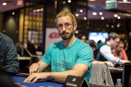 Brian Rast води по чипове преди финалната маса на $500,000...