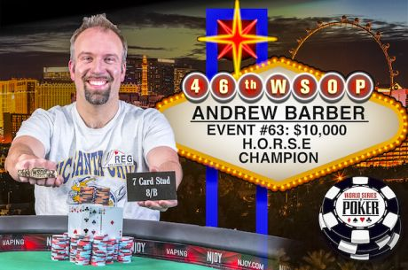 WSOP Day 38: Barber Wins $10K H.O.R.S.E., Hofer Takes Little One & More