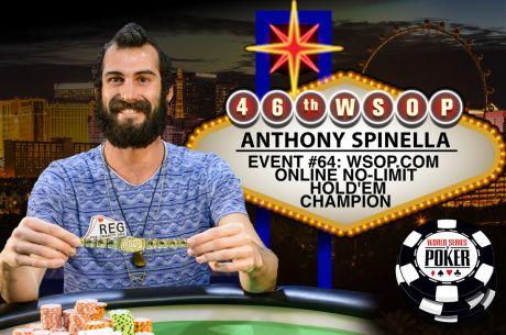 2015 World Series of Poker: Anthony Spinella gewinnt Online Event