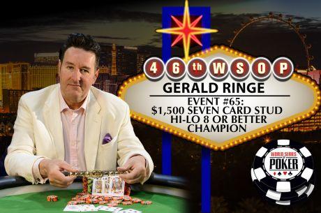 2015 World Series of Poker: Gerald Ringe gewinnt Event 65