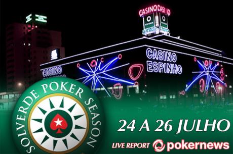 Etapa 7 Solverde Poker Season: Satélites Arrancam Hoje no Casino de Espinho