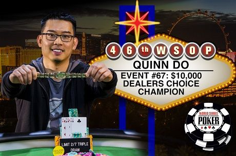 2015 WSOP Day 40: Quinn Do is First-Ever Dealer's Choice Champion