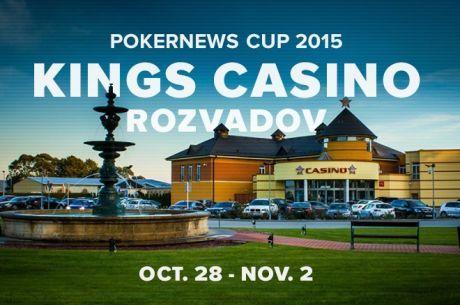 """""""PokerNews Cup 2015"""" pokerio festivalis sugrįžta į """"King's Casino"""""""