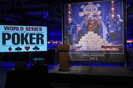 "WSOP Day 41: Main Event Keeps Going Despite Roof Leak; ""Lucky 7s"" Event Ends"