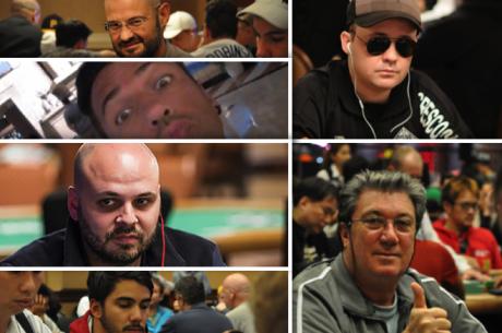 6 Lusos no Dia 2 do Main Event WSOP 2015; Nanev e Brito's Lideram a Contagem