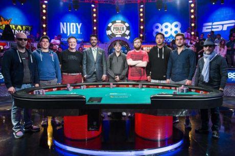 """2015. aasta """"November Nine"""" selgunud, Daniel Negreanu 11.koht"""