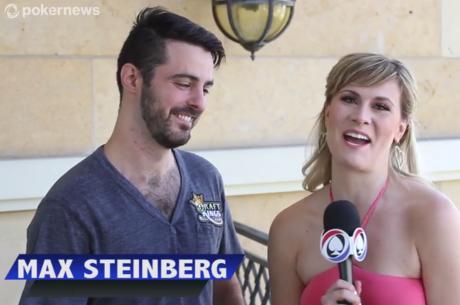 November Nine interjúk: Max Steinberg, aki $27-t váltott döntő asztalra
